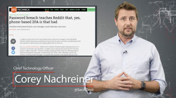 Reddit Regrets SMS 2FA – Daily Security Byte