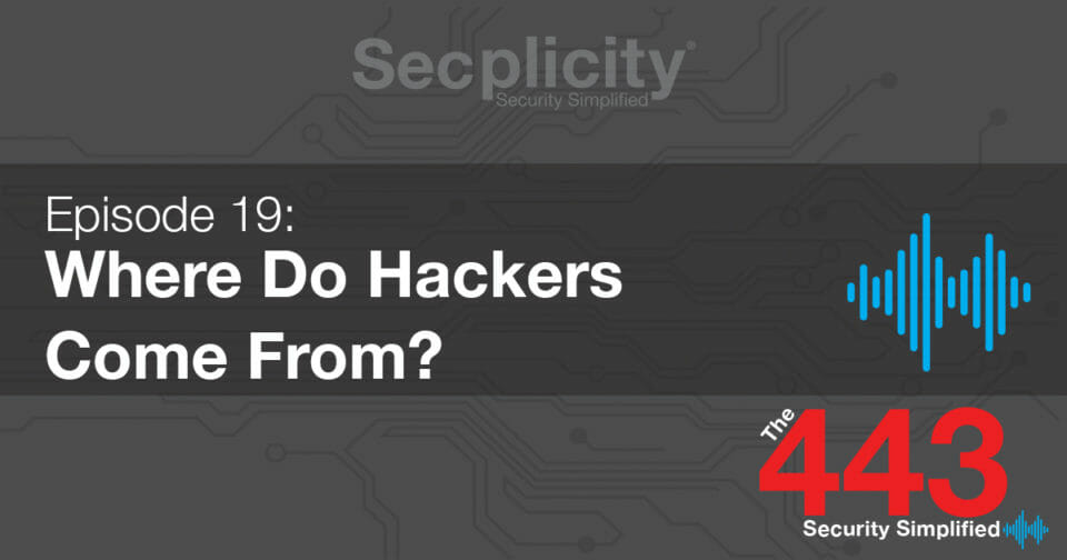 Where Do Hackers Come From?